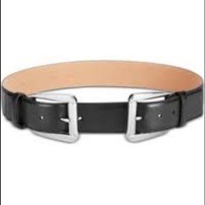 Never Worn Michael Kors Double-Buckle Leather Belt